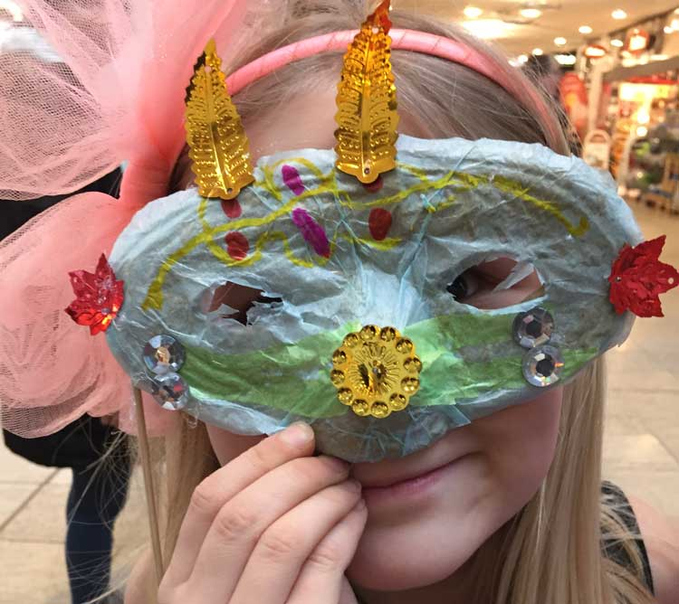kreativ fastelavn maske workshop schouwevent 4